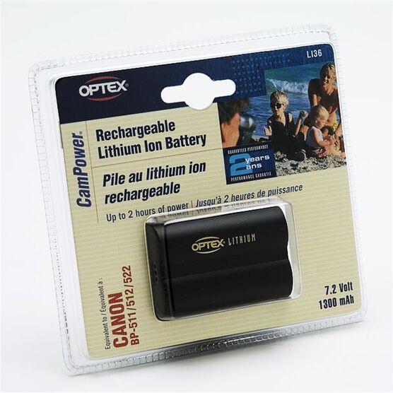 Optex LI36 camcorder battery - Li-Ion