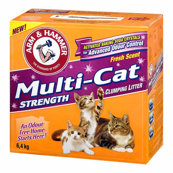 Arm & Hammer Multi-Cat Litter - 6.4kg