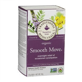 Traditional Medicinals Herbal Tea - Organic Smooth Move - 20's