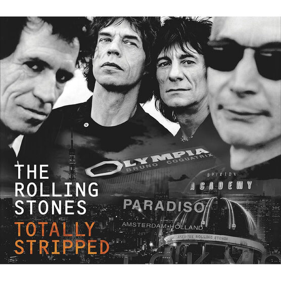 The Rolling Stones - Totally Stripped - DVD