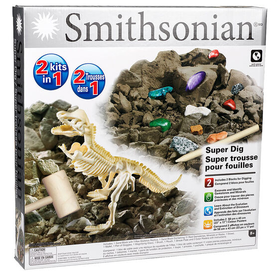 Smithsonian 2 in 1 Kits - Super Dig
