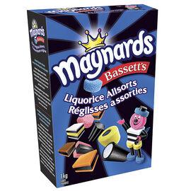 Maynards Bassett's Liquorice Allsorts - 1kg