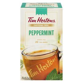 Tim Hortons Peppermint Tea - 20 Pack
