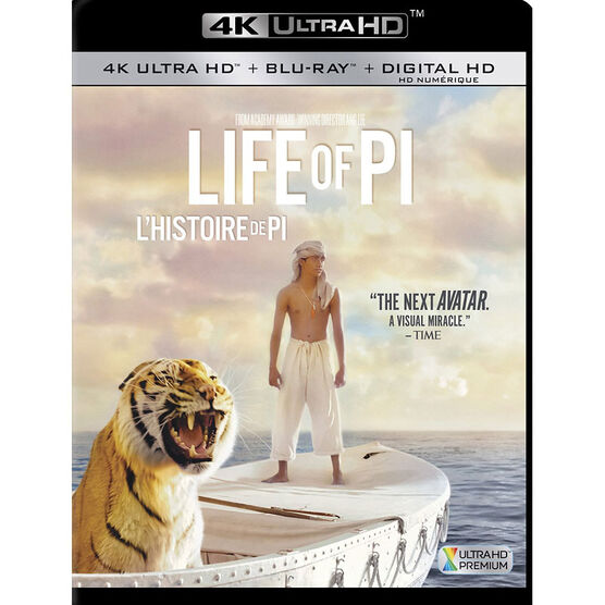 Life of Pi - 4K UHD Blu-ray