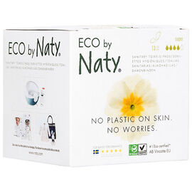 Eco by Naty Thin Sanitary Towels - Super - 13's