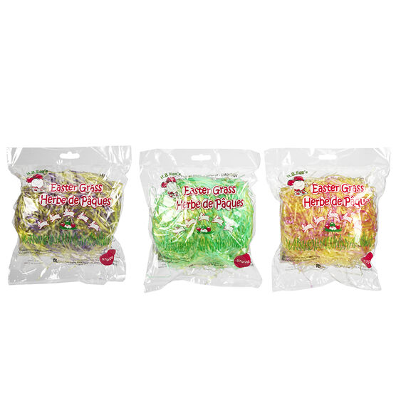 Easter Two Tone Poly Grass - Assorted - 57g