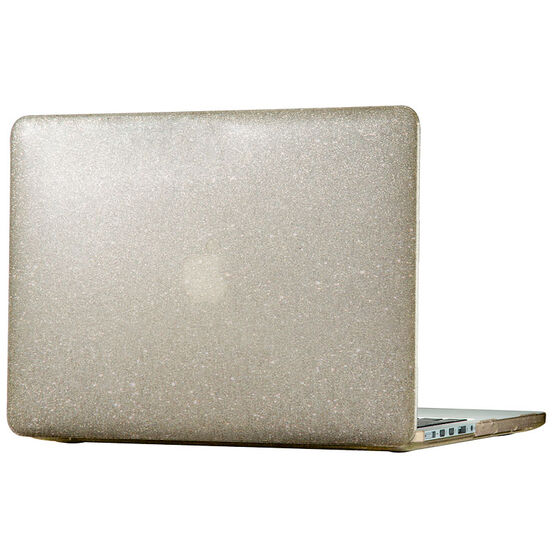 Speck SmartShell Case for 2016 MacBook Pro 13inch - Clear Gold Glitter - SPK-86400-5636