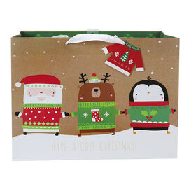 Christmas Vogue Gift Bag - Extra Large