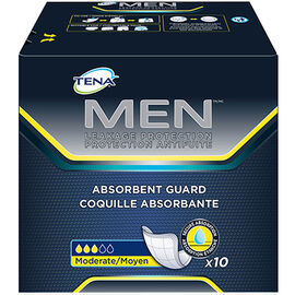 Tena Men Absorbent Guards - 10's