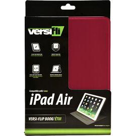 Versifli Versiflip For iPad Air - Red - FLI-5032RE
