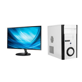 Certified Data Intel i5-8400 with Samsung LS27F350 27inch LED Monitor - PKG #13828