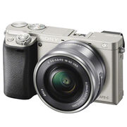 Sony a6000 with 16-50mm Lens - Silver - ILCE6000LS