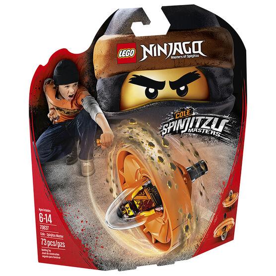 LEGO Ninjago Action Toy - Cole Spinjitzu Master