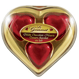 Le Gourmet Milk Chocolate Hearts - 24g