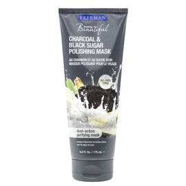 Freeman Feeling Beautiful Facial Polishing Mask - Charcoal & Black Sugar - 175ml