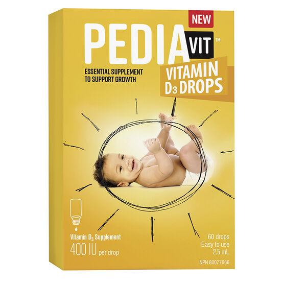 PediaVit Vitamin D3 Drops - 2.5ml - 21894