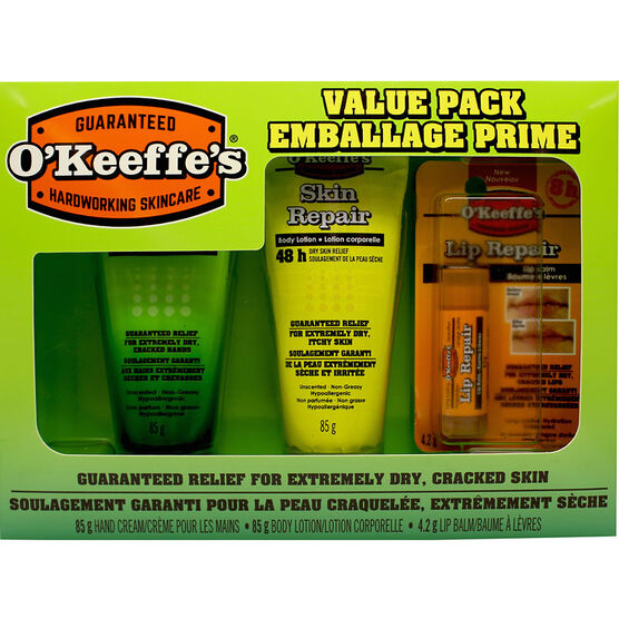 O'Keeffe's Value Pack - 3 piece