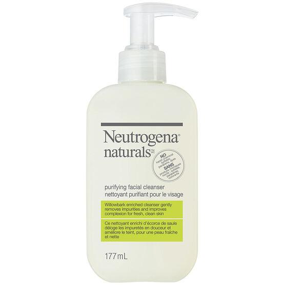 Neutrogena Naturals Purifying Facial Cleanser - 177ml