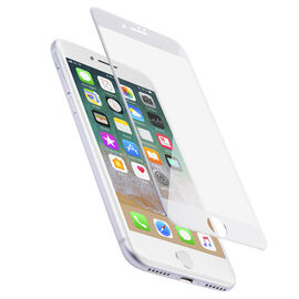 Logiix Phantom Glass Arc for iPhone 7 - White Frame - LGX12343
