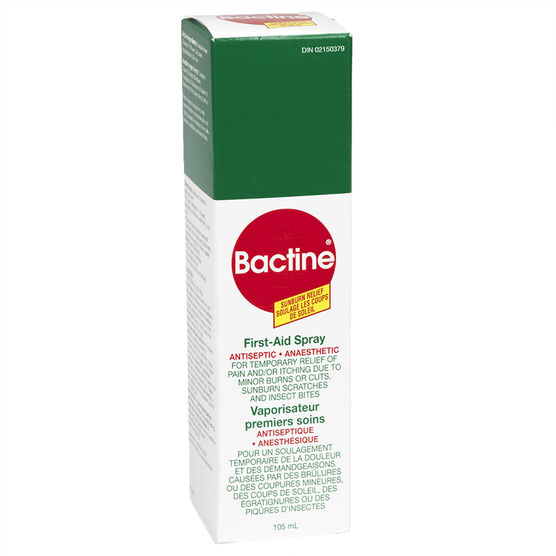 Bactine First Aid Spray - 105ml