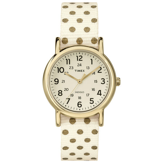Timex Weekender Watch - Gold - TW2P65400GP