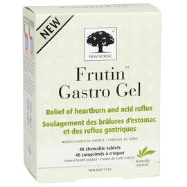 New Nordic Frutin Gastrol Gel Chewable Tablets - 48's