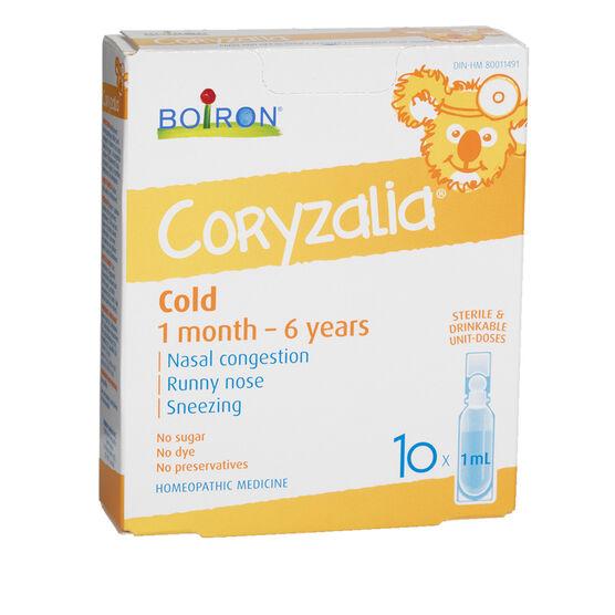 Boiron Coryzalia Cold for Kids - 10 x 1ml