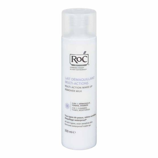 RoC Multi-Action Make-up Remover Milk - 200ml