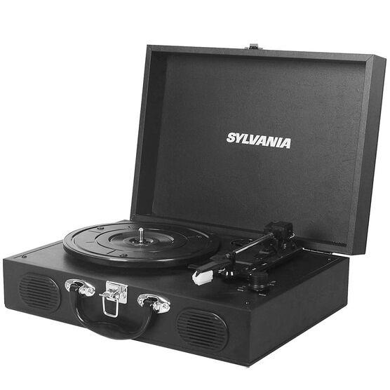 Sylvania Portable USB Turntable - Black - STT102USB