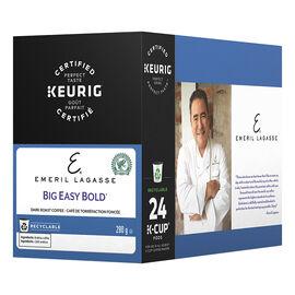 K-Cup Emeril Coffee Pods - Dark Roast Big Easy Bold - 24 Pods