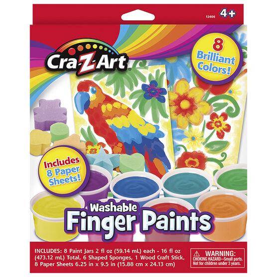 Cra-Z-Art Washable Finger Paints