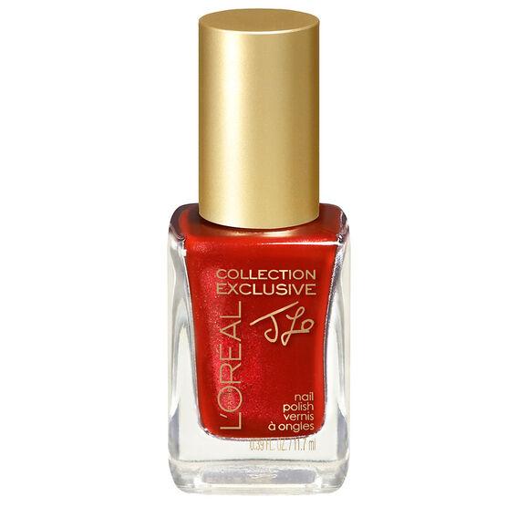 L'Oreal Collection Exclusive Colour Riche Nail Colour - JLO's Red