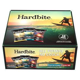 Hardbite Chips - Variety Pack - 18 x 23g