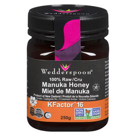 Wedderspoon 100% Raw Manuka Honey - 250g