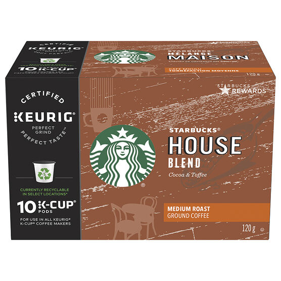 K-cup Starbucks Coffee - House Blend - 10 pack