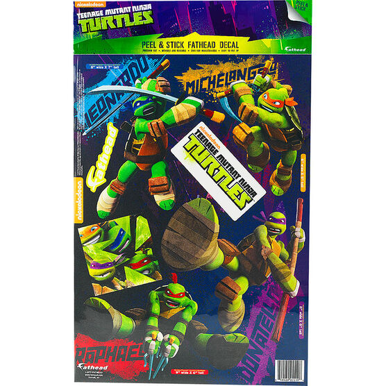 Teenage Mutant Ninja Turtles Fathead Decals