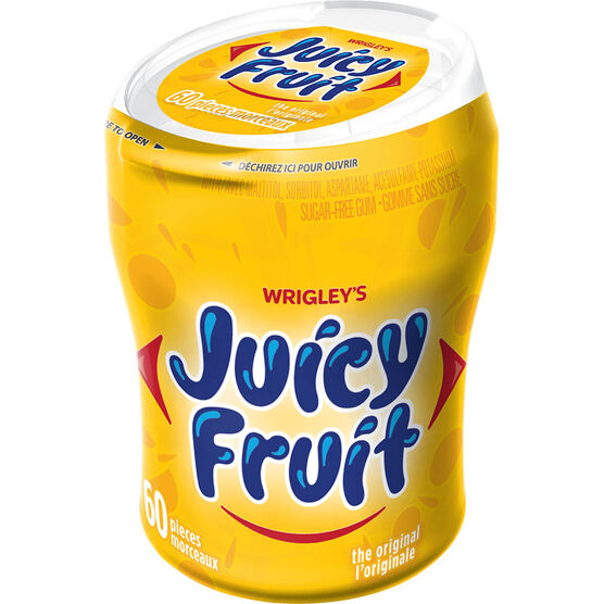 Wrigley Juicy Fruit Gum - 60 piece