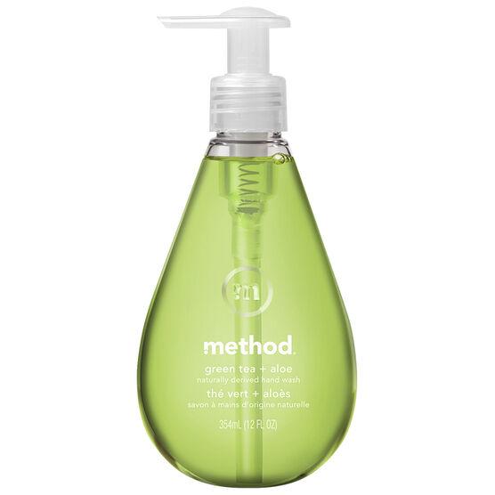 Method Gel Hand Wash - Green + Aloe - 354ml