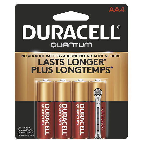 Duracell Quantum AA Batteries - 4 pack