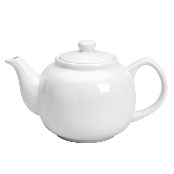 Kitchen Style Teapot - 6 cup - Assorted