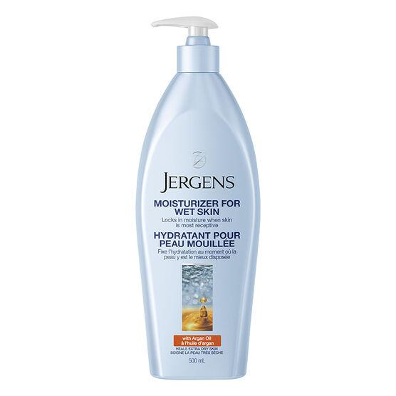 Jergens Wet Skin Moisturizer - Argan Oil - 500ml