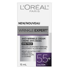 L'Oreal Wrinkle Expert Anti-Wrinkle Cream 55+ Calcium - Eye - 14g
