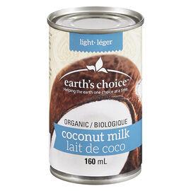 Earth's Choice Organic Light Coconut Milk - 160ml