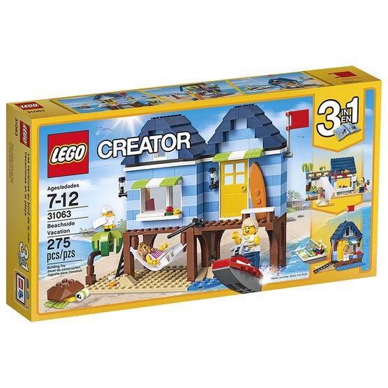 LEGO Creator 3in1 - Beachside Vacation