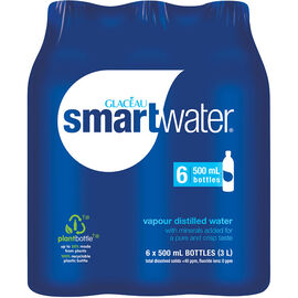 Glaceau Smart Water - 6x500ml