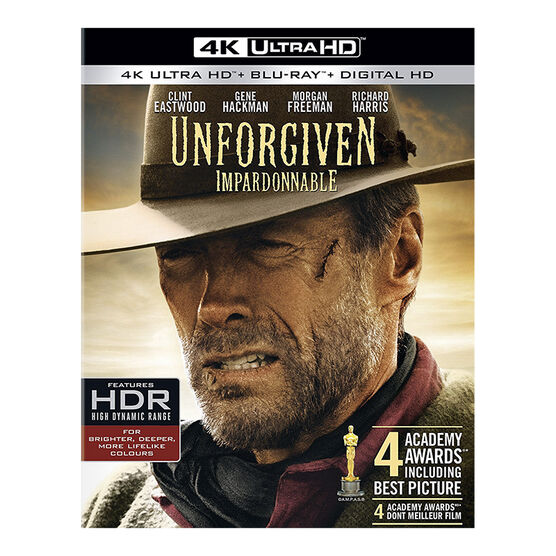 Unforgiven - 4K UHD Blu-ray