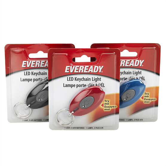 Energizer Eveready LED Keychain Light - EVLKCBUCS