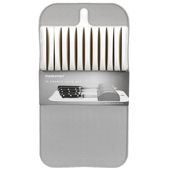 Madesmart Knife Mat - White/Grey