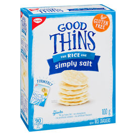 Christie Good Thins The Rice One - Simply Salt - 100g
