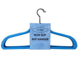 London Drugs Non Slip Hangers - Coffee - 10 pack